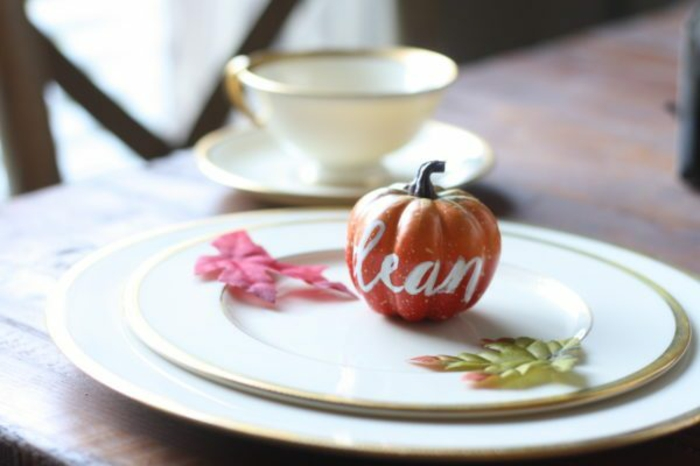 Belle marque place Halloween table déco original décoration idée