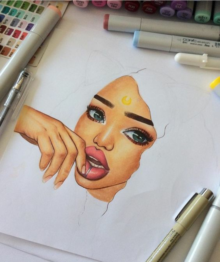 1001 images pour le dessin fille parfait des id es - Comment faire jouir une femme a coup sur ...