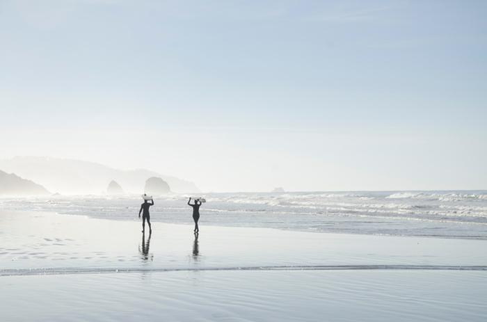 Image romantique image d amoureux plage image originale surf plage photo