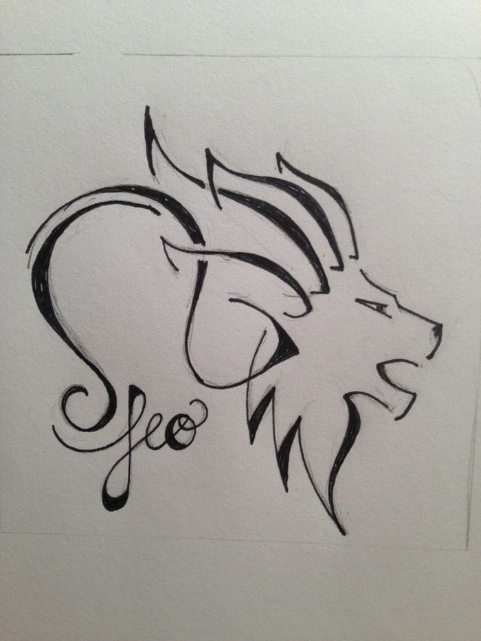 Cool tatouage avec signification tatouage lion quell tatou swag sodiaque