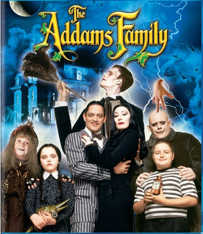 Nail art et maquillage mortitia adams family la famille adams film