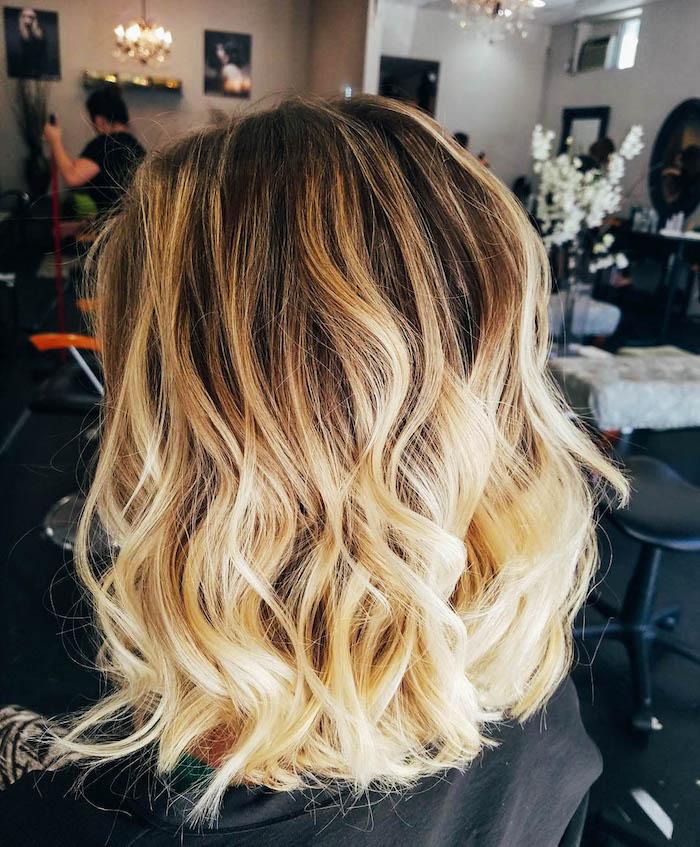 Coiffure Meche Blonde Femme Cheveux Naturels 2019