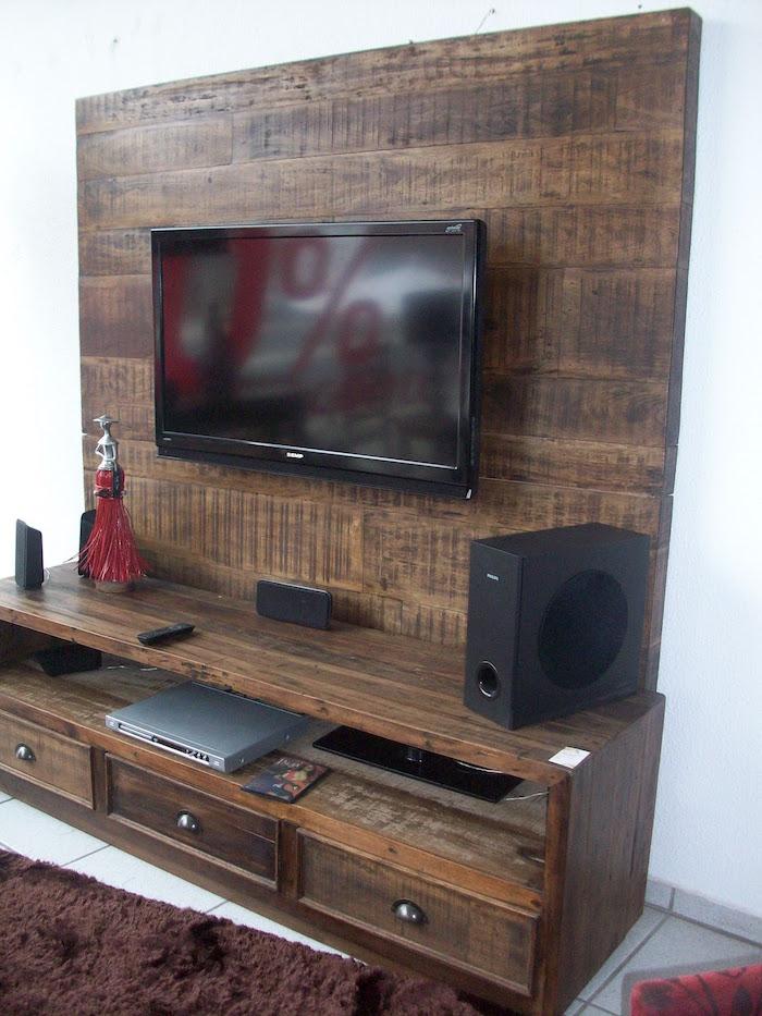 meuble tv cagette best id es et tutos pour fabriquer un meuble en cagette charmant meuble tv. Black Bedroom Furniture Sets. Home Design Ideas