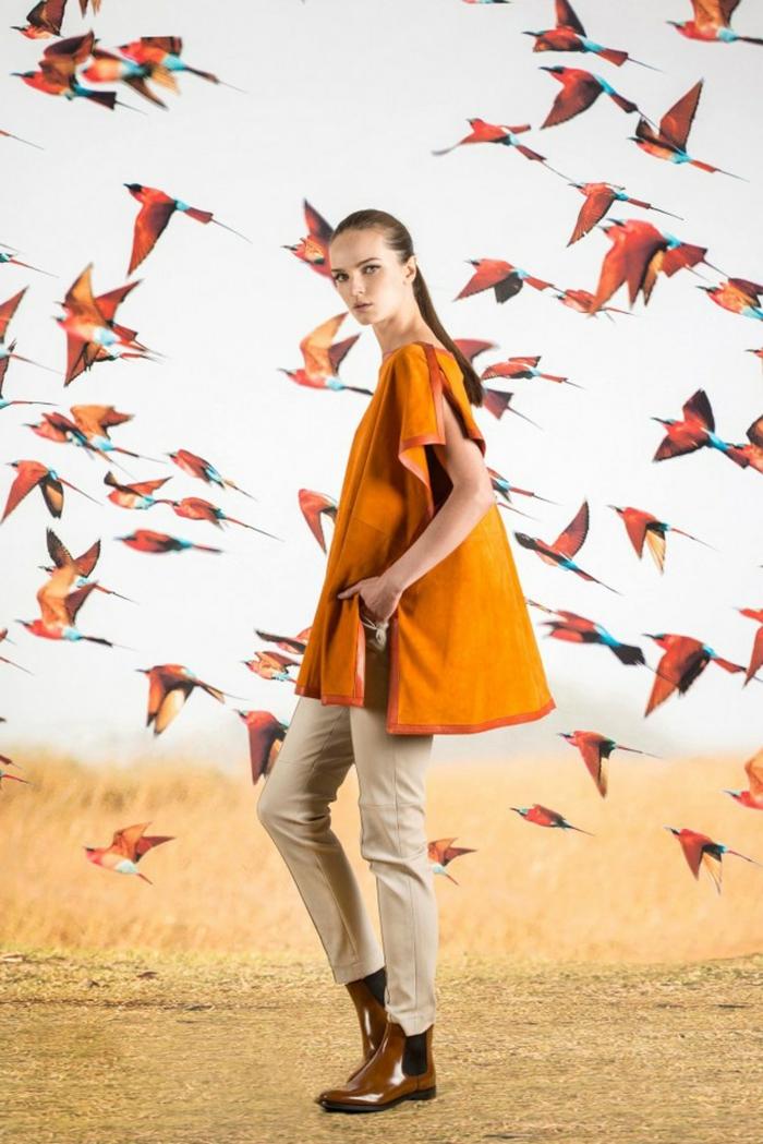 Safari robe saharienne kaki chemise robe robe devernois