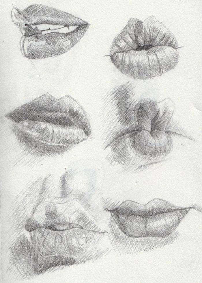 Apprendre a dessiner une fille simple comment dessiner des filles idée chouette lèvres