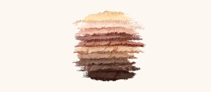 conseil beauté pour réaliser un maquillage nude, palette végétale nude d'Yves Rocher