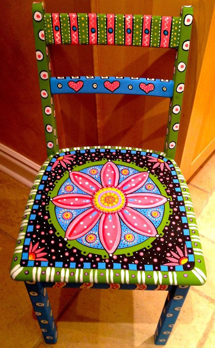 meuble rénové peinture effet patiné relooker meuble ancien peindre chaise originale couleurs