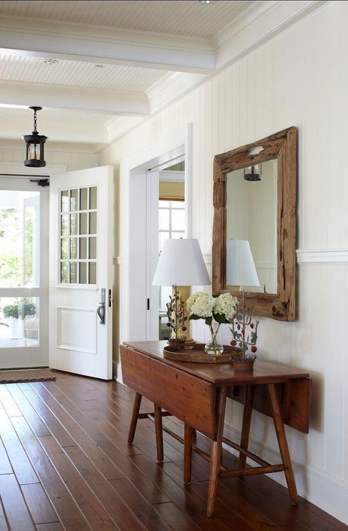 peinture lin clair pour mur couloir de maison lunimeux idées deco