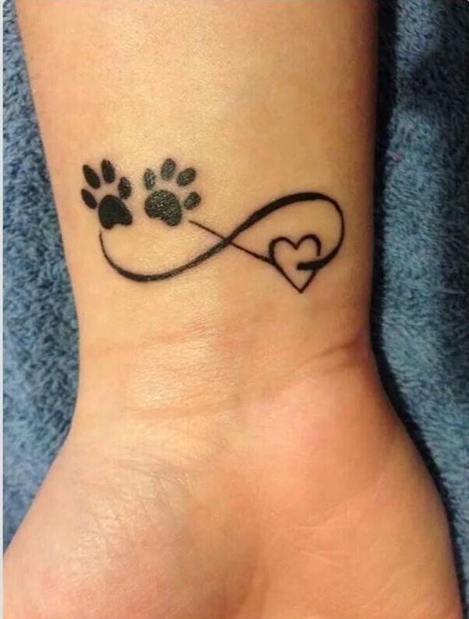 symbole amour eternel tatouage tatouages infini coeur tattoo animaux