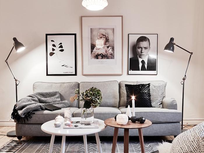 nappe nordique pour deco scandinave ikea et motif nordique meubles nordiques