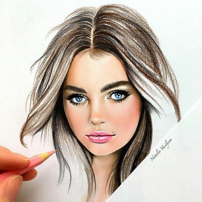 Comment dessiner une fille de profil dessin humoristique fille dessin de fille amoureuse