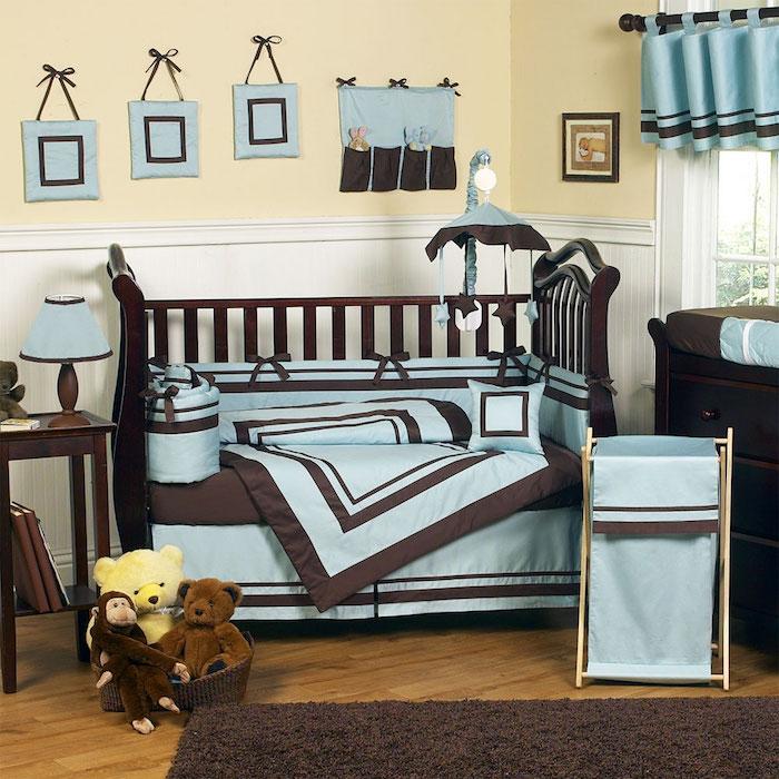quelle couleur avec le marron fonc et turquoise dans chambre beige with chambre turquoise et marron. Black Bedroom Furniture Sets. Home Design Ideas