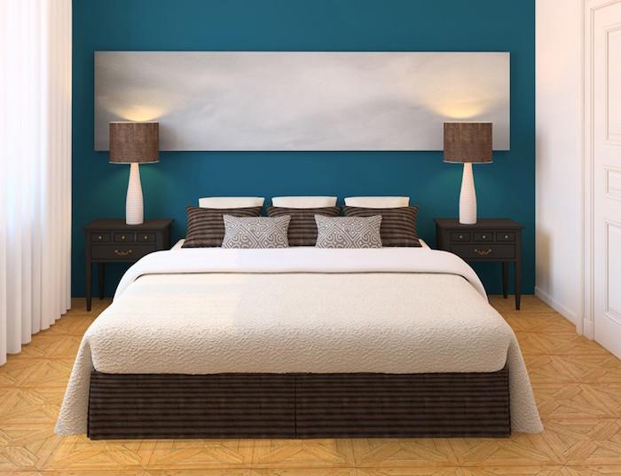 1001 id es quelle couleur va avec le marron 50 id es. Black Bedroom Furniture Sets. Home Design Ideas