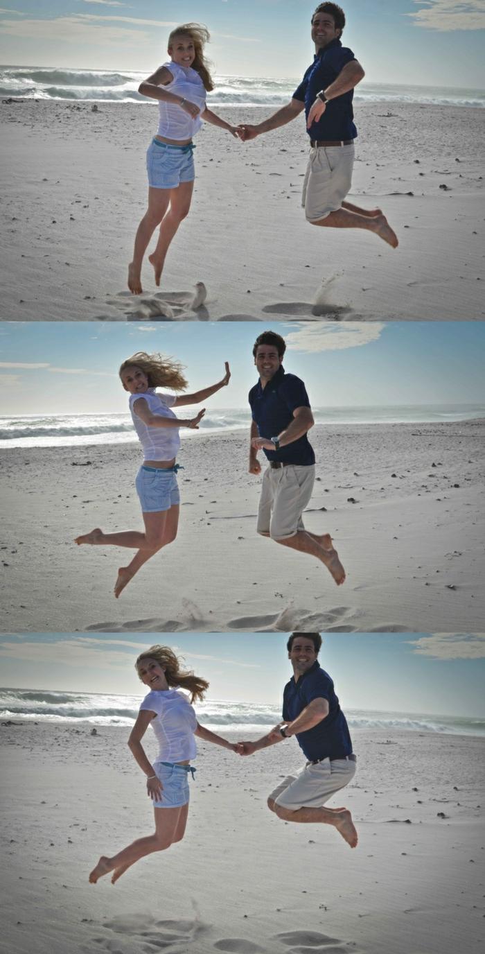 Image romantique image d amoureux plage image originale