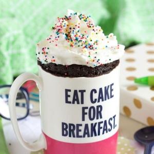 La recette de mug cake parfait - 60 idées gourmandes pour un gâteau tasse express