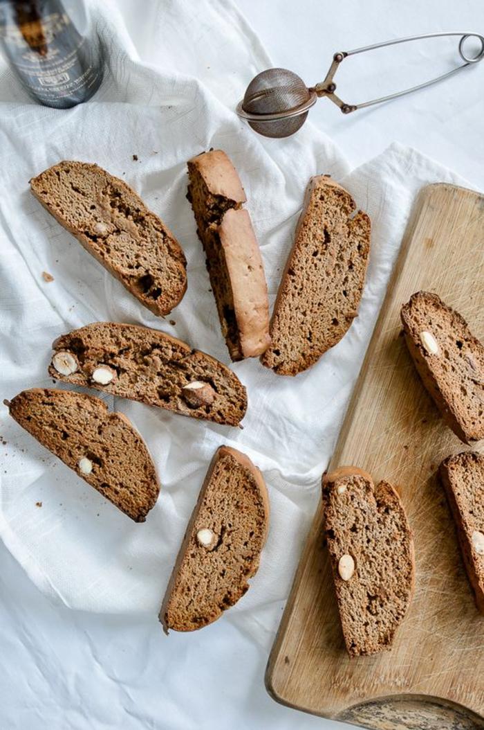 recette facile de biscottes à la farine de marrons, idées gourmandes que faire avec des chataignes