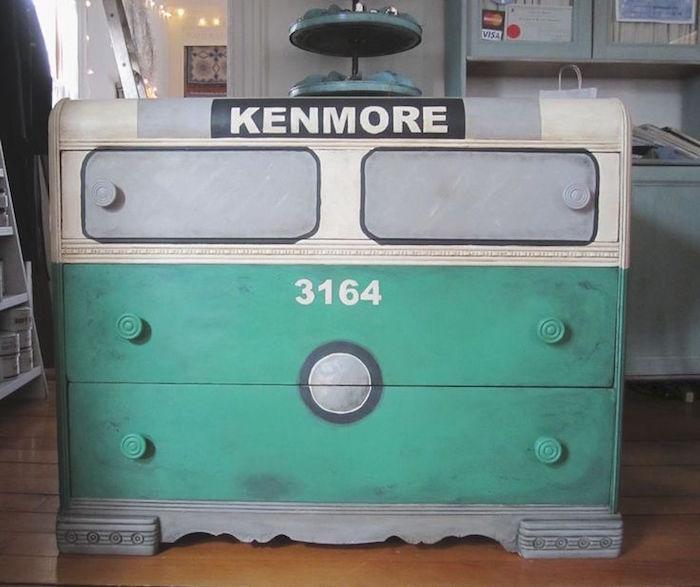 meuble relooké commode à peindre relooking meubles repeindre armoire originale
