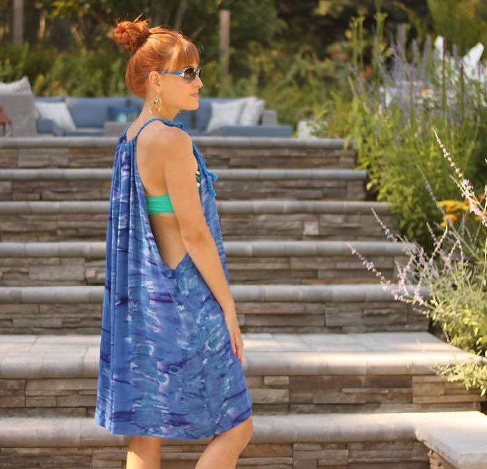 Tuto couture facile gratuit tuto couture bébé facile simple création robe de plage