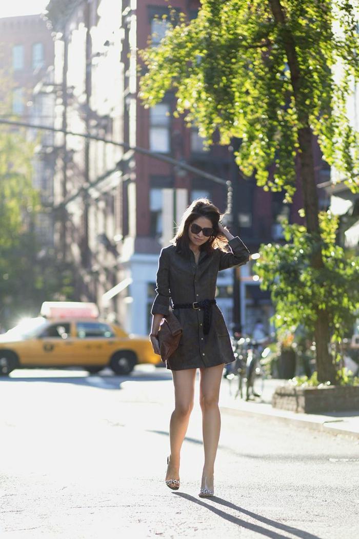 Saharienne femme la saharienne robe les 3 suisses idée moderne courte robe tenue de ville