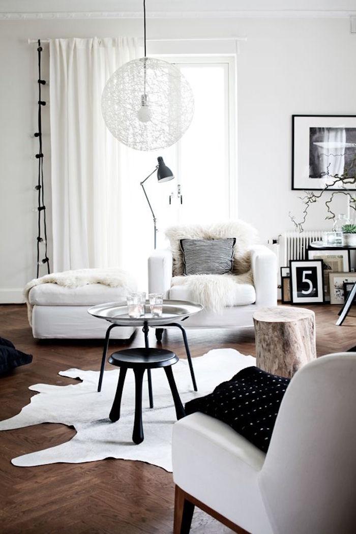 decoration nordique pour intérieur scandinave style suédois