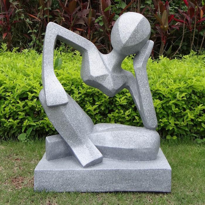 1001 id es sculpture contemporaine l 39 art deux mains for Sculpture moderne pour jardin