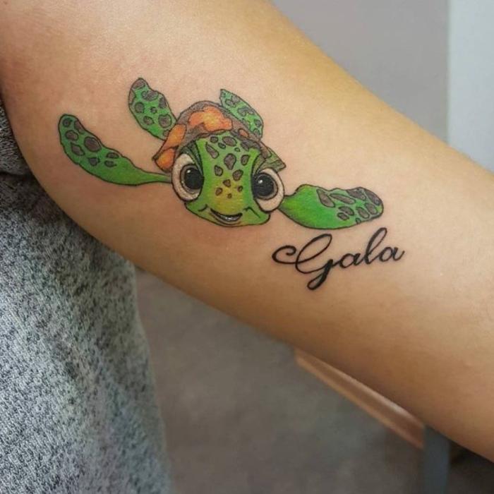 1001 id es magnifiques pour votre tatouage tortue - Signification animaux tatouage ...