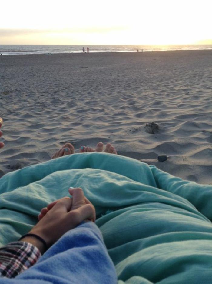 Vue magnifique image d amour fou image amour couple au bord de la mer