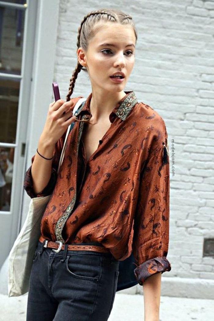hipster vetement femme vintage chemise ancienne kitch mode