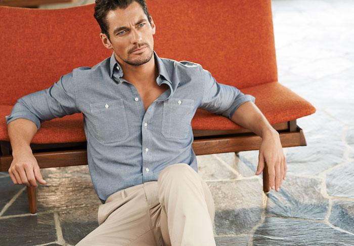 tendance de mode pour businessman, style homme en chemise et pantalon