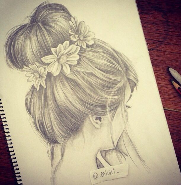 1001 + images pour le dessin fille parfait - des idées pour développer son créativité