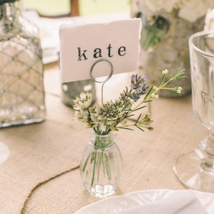 Table mariage décoration marque place a faire sois meme table 6