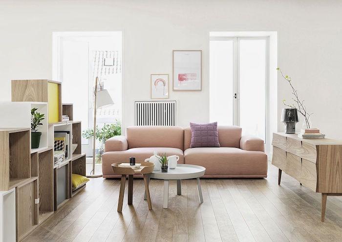 deco ambiance scandinave inspiration salon nordique et meubles design