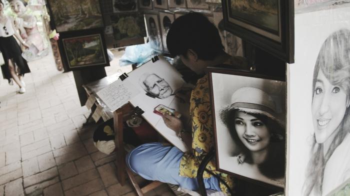 Admirable technique dessiner bien image de fille dessin photo artiste
