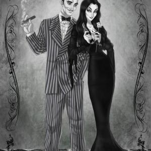 Morticia Addams - un caractère bien-aimé par les adeptes de l'horreur