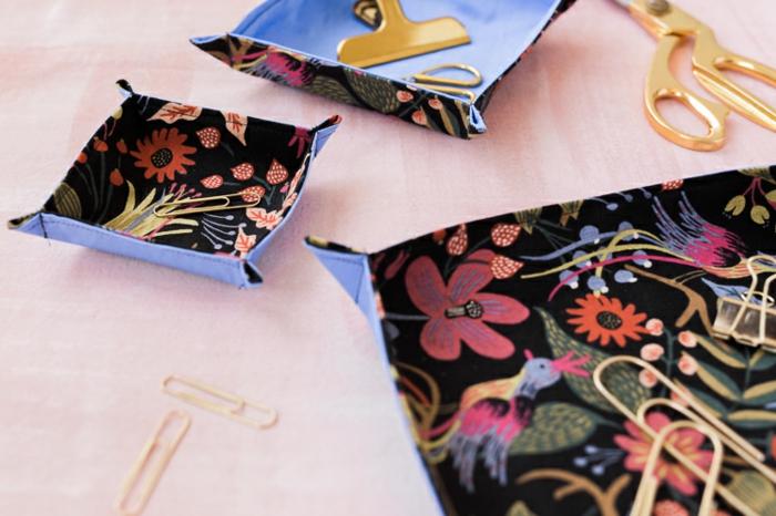 Couture pour les nuls couture sac couture robe simple couture panier plat très mignon