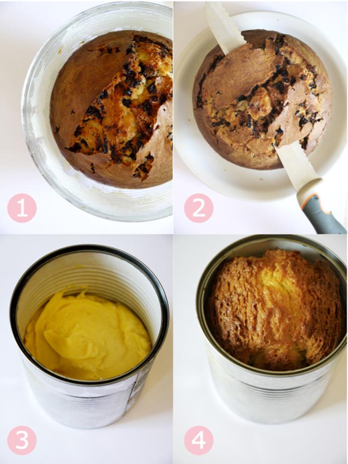 recette de gateau anniversaire enfant sur thème la forêt magique, tuto pour réaliser une décoration de gâteau design en pâte à sucre
