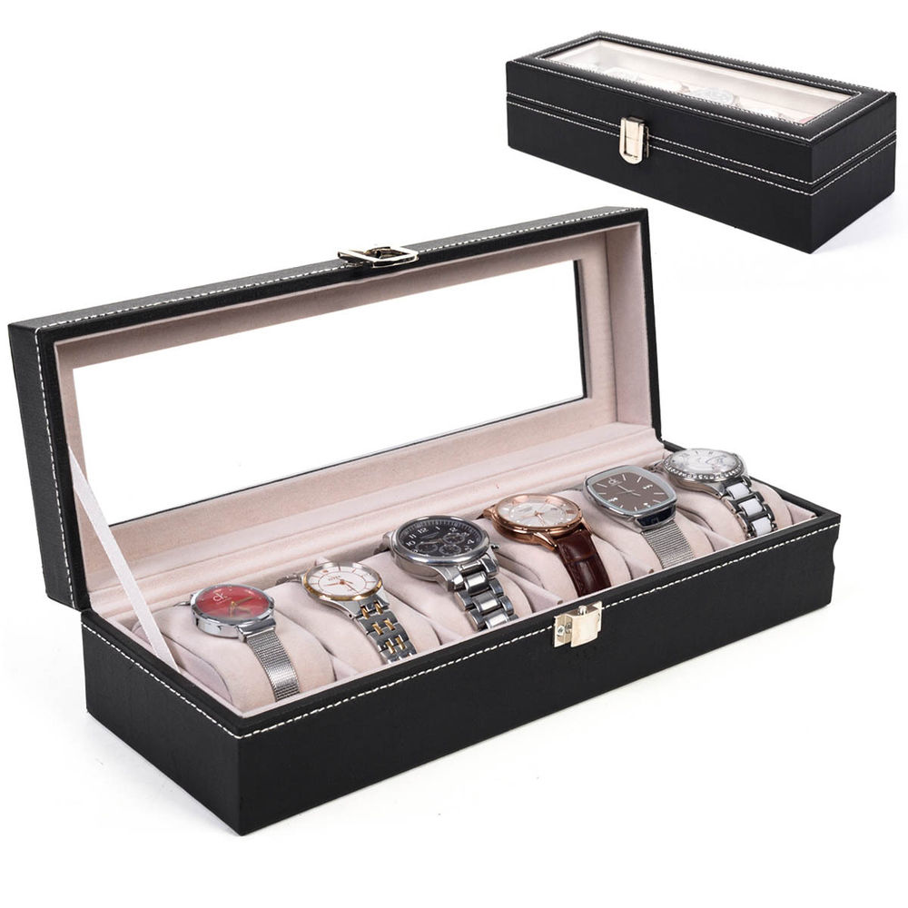 idée d organisateur pour montre, rangement stylé, cadeau pour souhaiter bonne fete papy