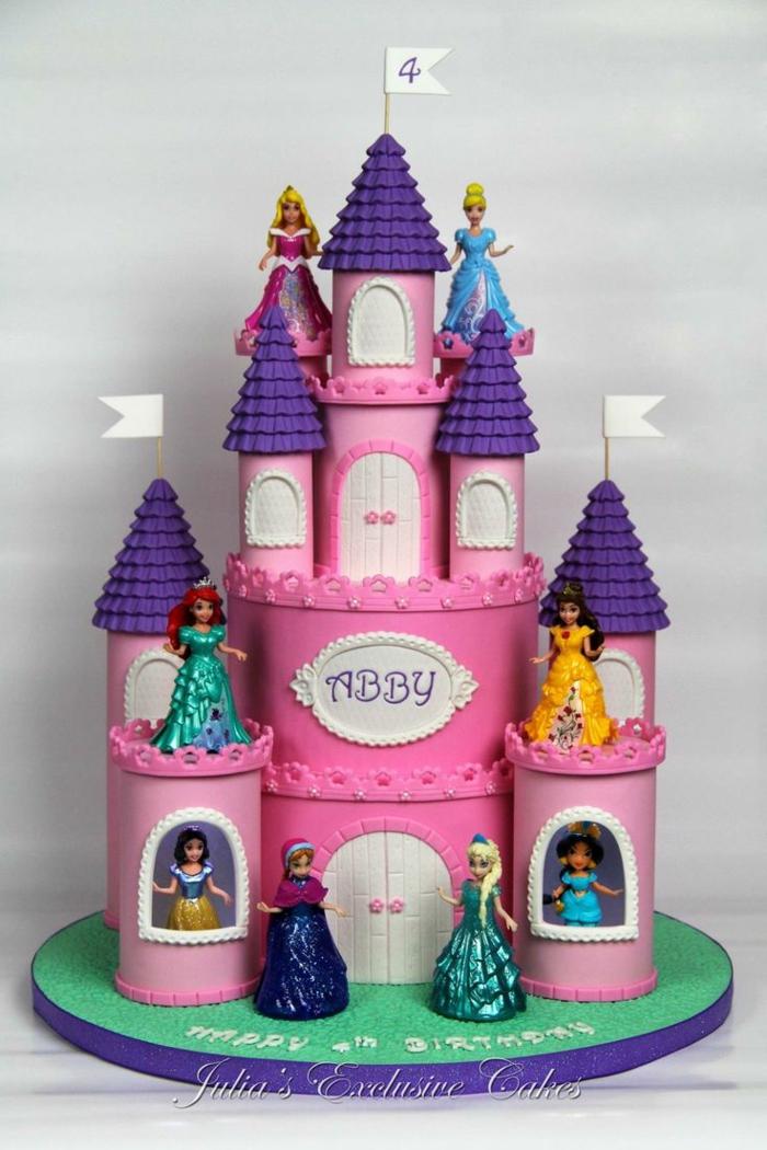 Gâteau Princesse Les Meilleures Idées Pour Surprendre Votre Petite