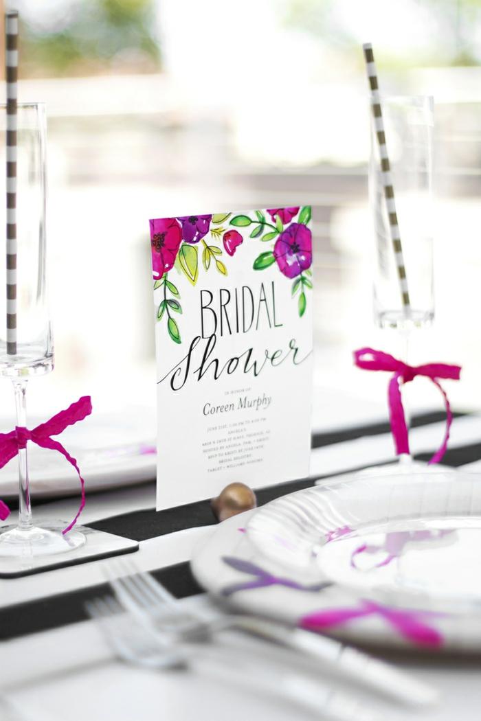 Idée marque place a imprimer et porte menu mariage