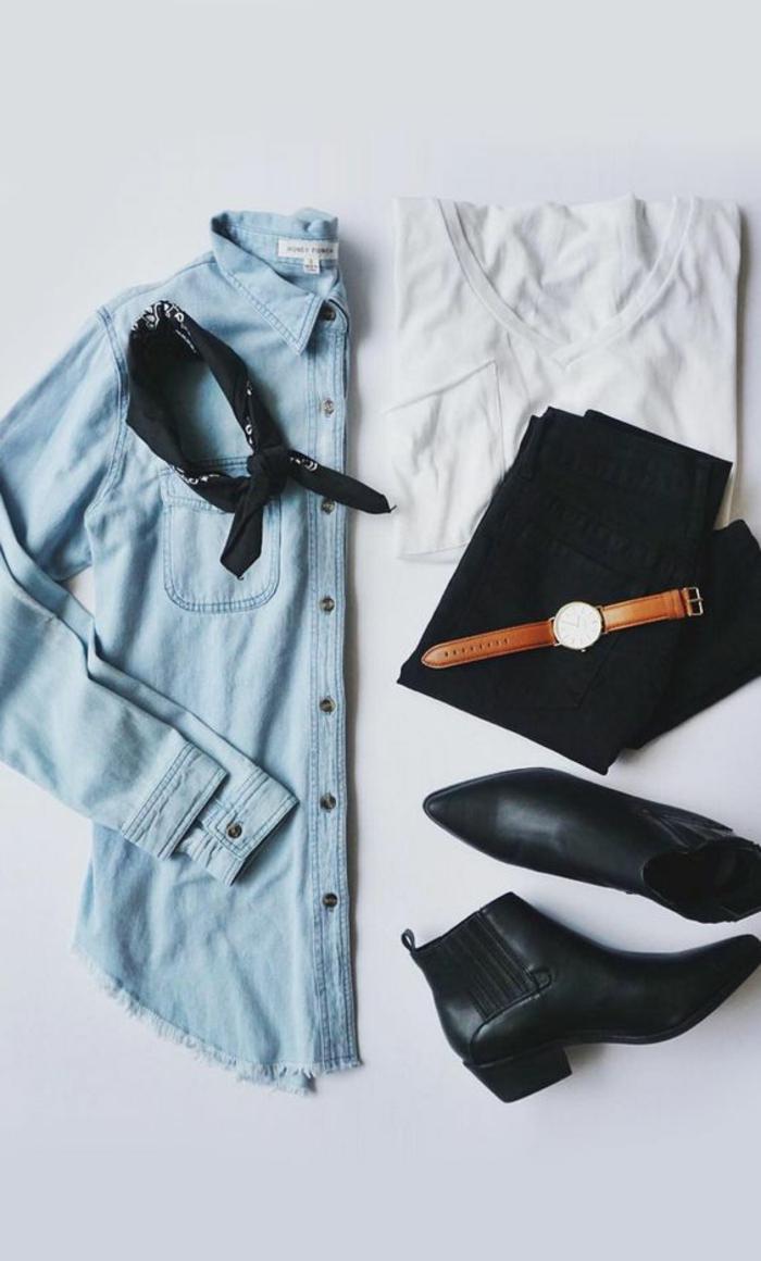 Comment s habiller avec un jean noir quelles bottes quand on est petite