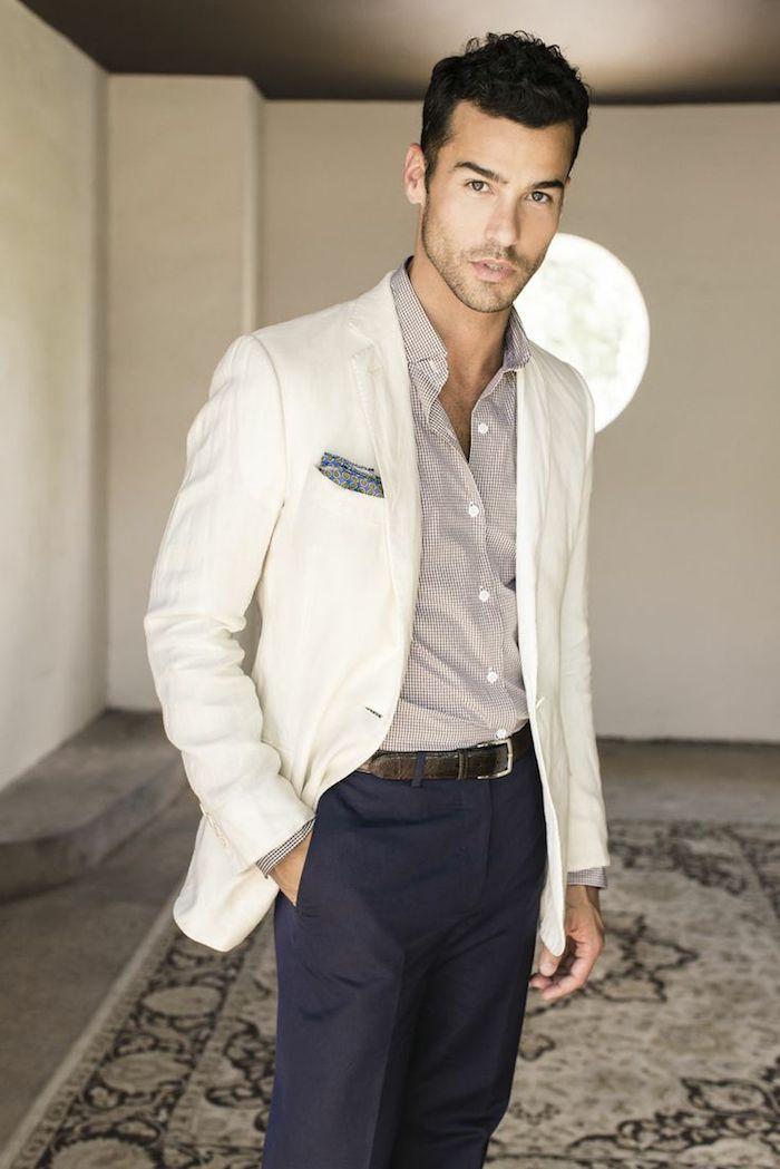 R gles d or pour r ussir la tenue homme d affaires 60 looks professionnels votre aide obsigen - Blazer blanc homme ...