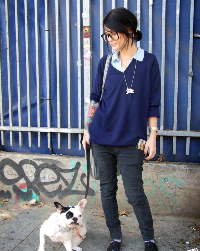 tenue sobre mais mode tendance hipster pour fille