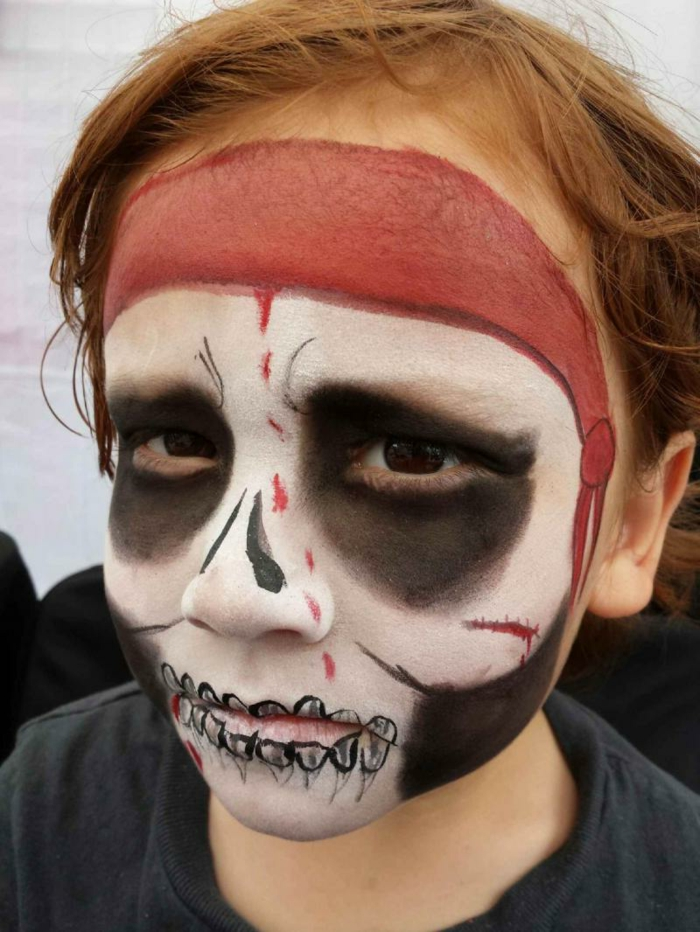 Maquillage halloween facile pirate - Maquillage halloween facile garcon ...