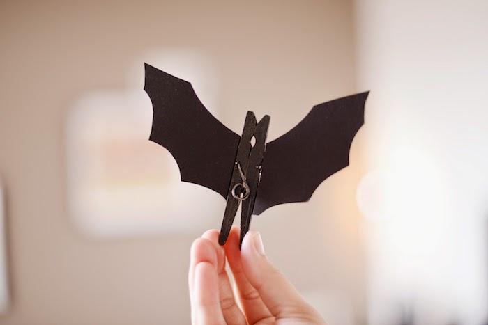 Activit manuelle halloween 90 id es cr atives de - Activite pince a linge maternelle ...