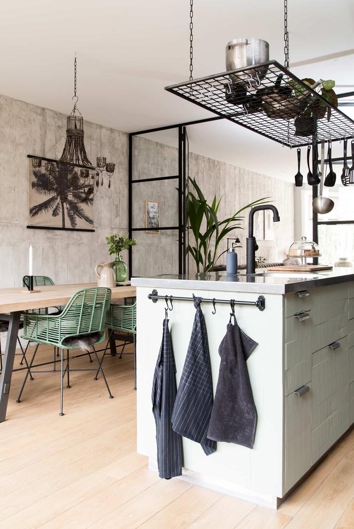 1001 Idees Deco Pour Amenager Une Cuisine Style Industriel