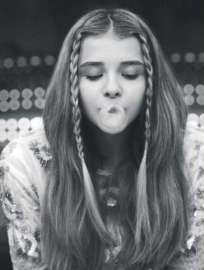 tenue grunge coiffure rock femme fille hippie