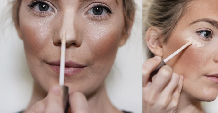tuto pour réaliser un maquillage halloween femme facile et impressionnant en recréant l'effet biche de snapchat