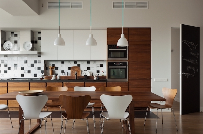 1001 astuces comment am nager une cuisine en longueur. Black Bedroom Furniture Sets. Home Design Ideas