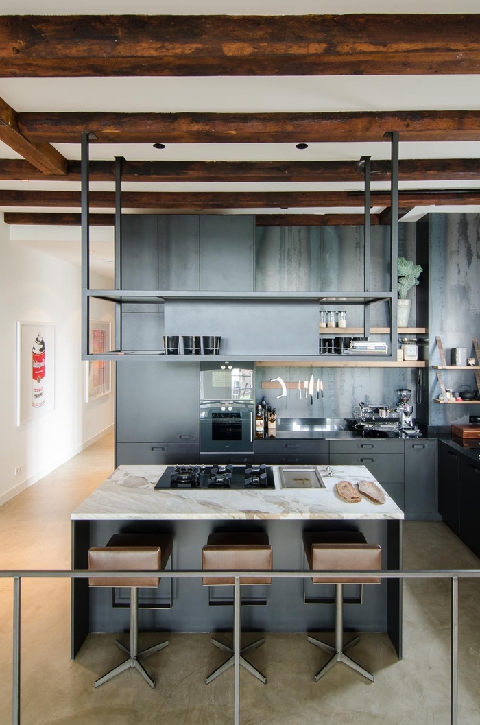 Awesome cuisine style loft industriel contemporary - Cuisine style industriel loft ...