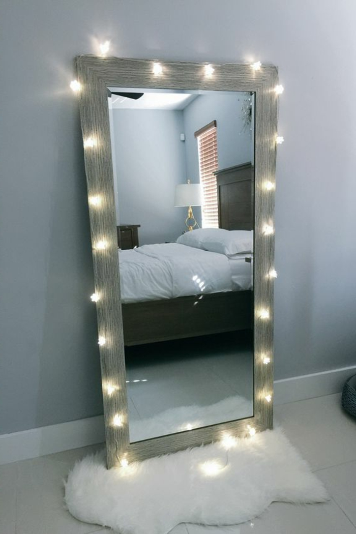 Beautiful decoration miroir chambre a coucher ideas for Decoration miroir
